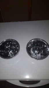 JK wrangler headlight assembly