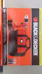 Cordless drill (black and decker)