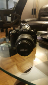 Canon D5000 camera with 18:55 lens