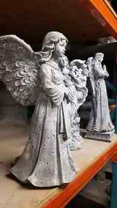 Concrete cement Angel garden statue