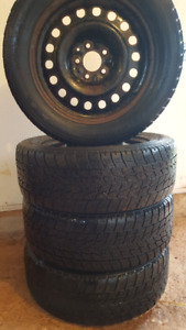 235/55 R17 Toyo Open Country Winter Tires on 5 x 114.3 Rims