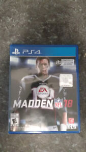Madden 18 pour PS4