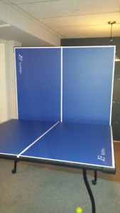 Barely used table tennis