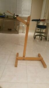 Wooden stand for typodonts