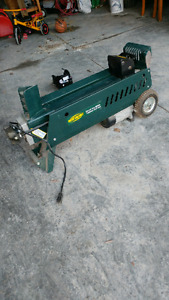 6.5 ton Electric log splitter for sale