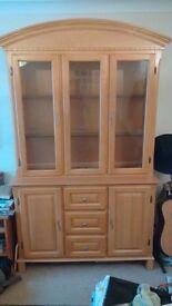 Beech veneer cabinet/unit