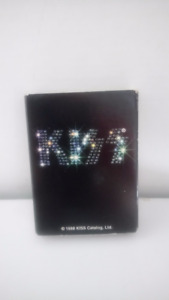 Kiss Zippo lighter in Box with Guarantee