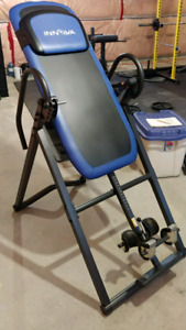 Inversion table bed