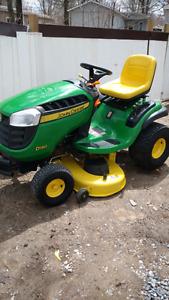 Tracteur John Deere D 130  2011