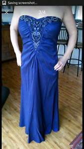 Prom dress size 12-14, worn once