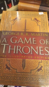 NEW Game of Thrones - illustrated edition - cover price: $62.50