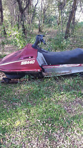Yamaha SS 440's (2 machines one low price) Great Beginner Sleds Strathcona County Edmonton Area image 2