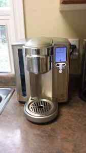 Breville k-cup brewer with k cup holder