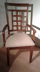 FOR SALE: CLOTH COVERED DINING CHAIRS