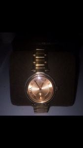Almost never worn rose gold Michael Kors watch