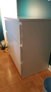 Commode ikea blanche