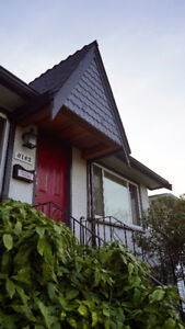 East Vancouver Character Home, Furnished Main Unit, 4 Bedrooms