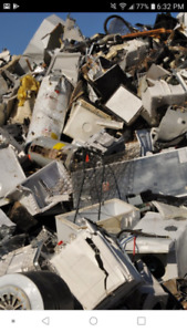 appliance and Scrap metal or vechile removal free