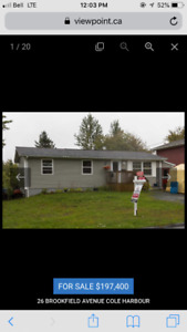 3 bedroom bungalow in Colby Village, cute and updated