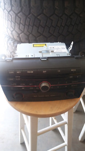 Factory stereo for a Mazda