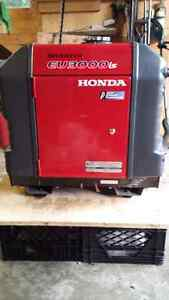 2013 Honda Generator Inverter EU3000is