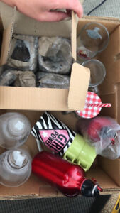 Glassware- some brand new, some used