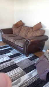 Leather Sofa $250