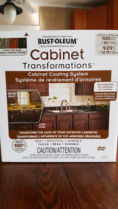 Cabinet Transformations - Cabinet Coating System