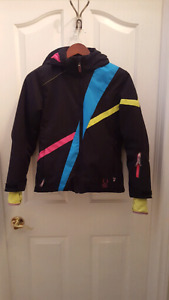 Jacket. Winter. Girl's. Spyder brand. Size 12. Ski.