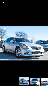 2012 Infiniti G25x Luxury Package Sedan