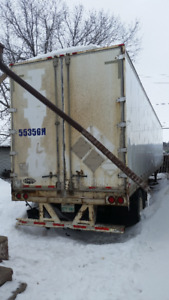 53 foot insulated semi trailer for storage use