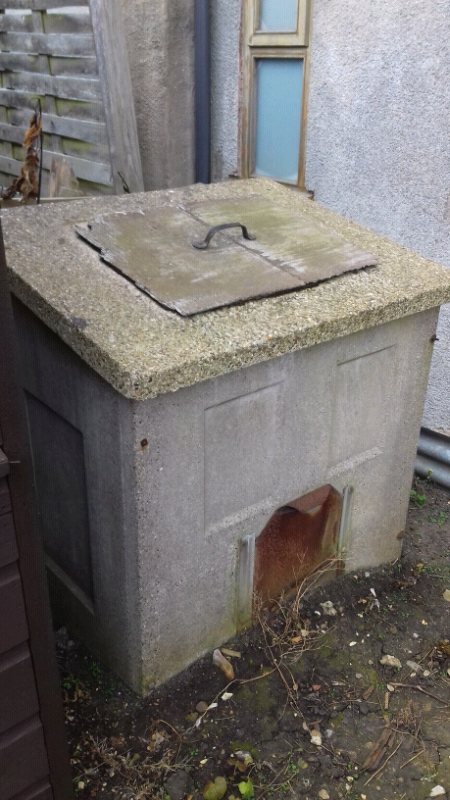 Concrete coal bunker   in Saxilby, Lincolnshire   Gumtree