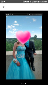 Grad Dress- moving must sell