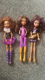 Monster high dolls, Clawdeen Wolf, postage available.