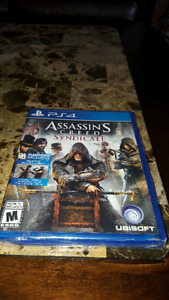 Assassin's Creed Syndicate PS4  {practically new}