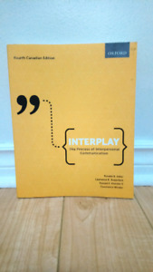 INTERPLAY Textbook, Forth Canadian Edition