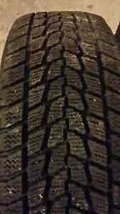 Toyo G 02 winter tires on rims