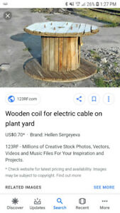 Looking for wooden coil