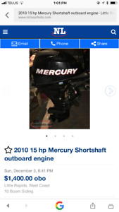 15 hp outboard engine