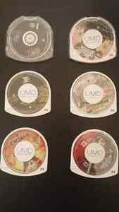 PSP 6 games lot