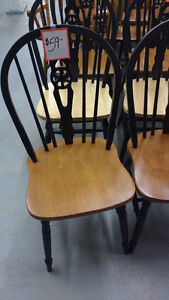 Assorted dining chairs for sale