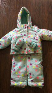 Toddler girl snow suit 18-24 months