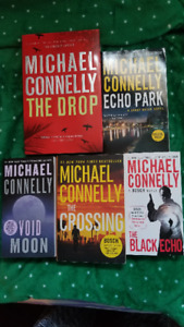 5- BOOKS BY MICHAEL CONNELLY