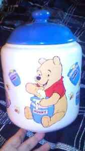 Winnie the Pooh Ceramic Cookie Jar