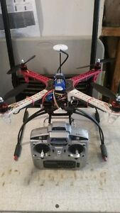 Dji clone 450 with jiyi GPS flight controller RTF