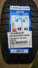 COMPASS TYRES ST5000 195/55 R10 Trailer wheel & Tyre