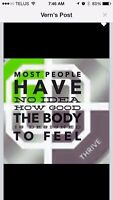 Give your body the nutrition it deserves!! Thrive!!!