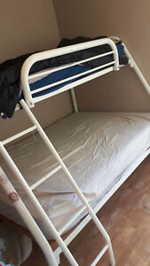 Bunk Bed w/ two mattresses