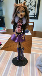 Large monster high Clawdeen Wolf