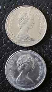 2-fifty cent coins. 1979,1984 London Ontario image 1